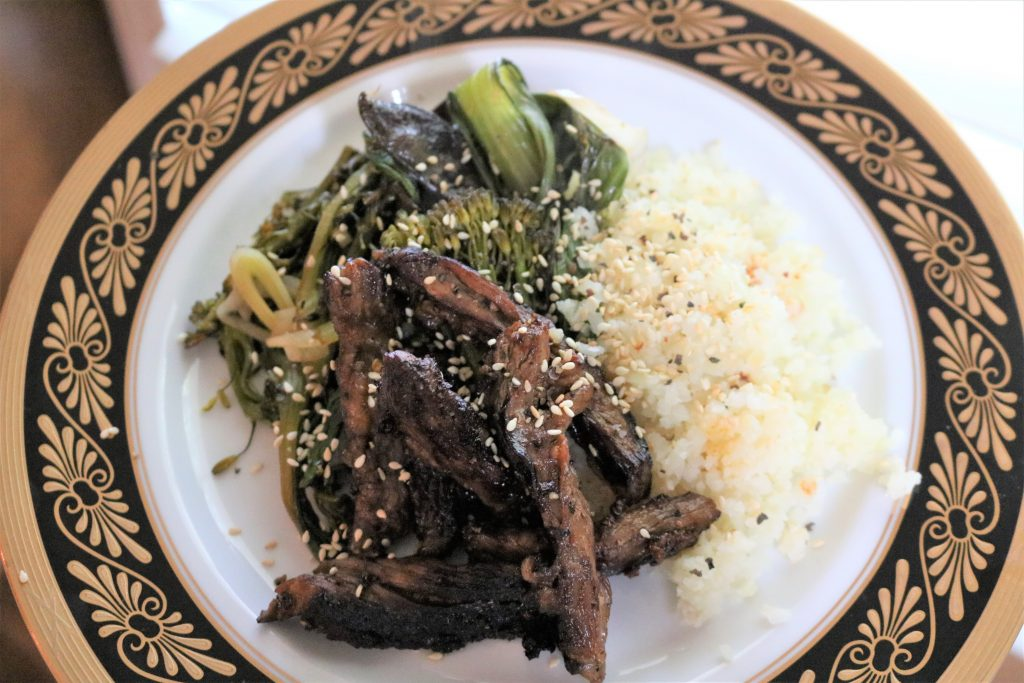 Whole30 Asian Beef