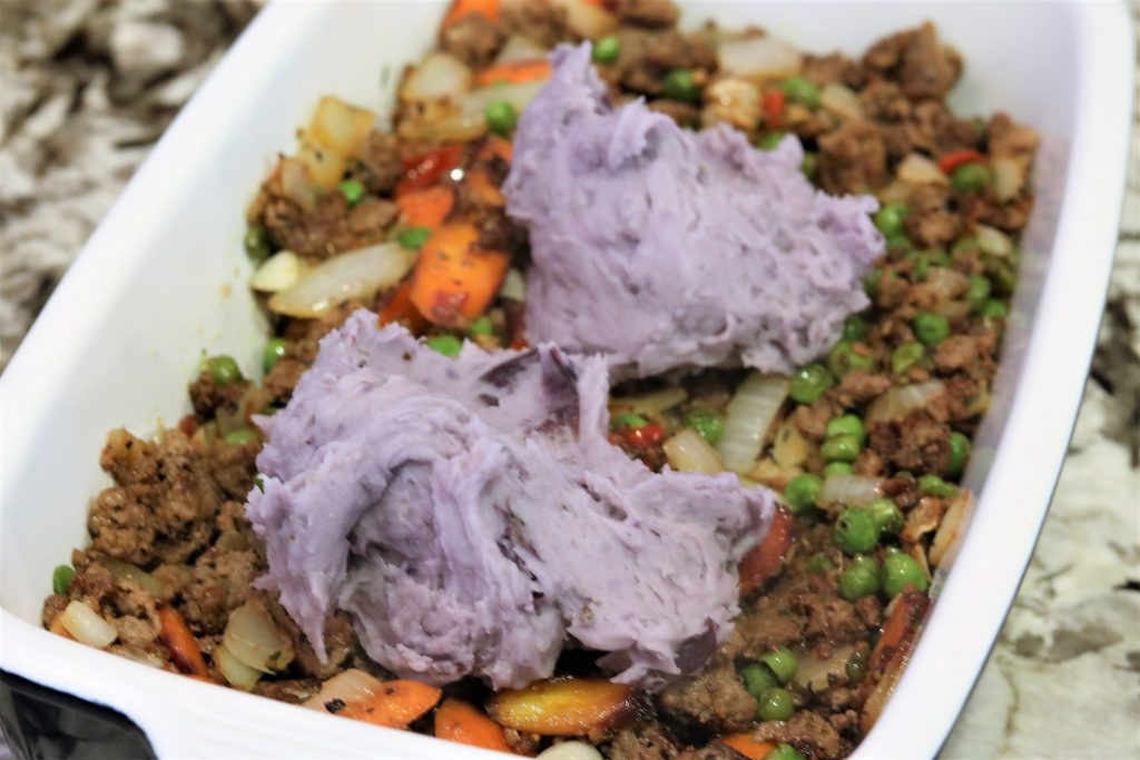 Whole30 Purple Shepard's Pie