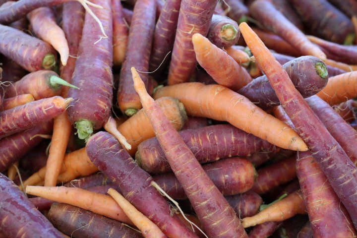 Santa Fe Farmers Market Carrots